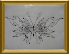 Hotfix Strassbild Schmetterling Farbwahl 101130