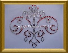 Hotfix Bügelbild Strass keltisches Ornament 110221