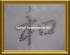 Chinesisches Schriftzeichen Strass Harmonie 110401