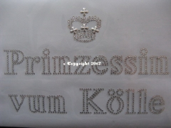 Hotfix Bügelbild Prinzessin vun Kölle 120112-3