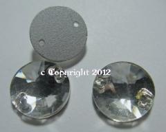 Aufnähsteine aus Glas 10mm Rund Crystal Strasssteine Strass aufn