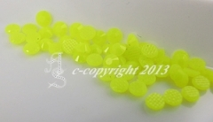 360 Hotfix Epoxy Steine zum aufbügeln Neon Gelb SS6