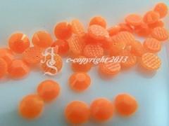 360 Hotfix Epoxy Steine zum aufbügeln Neon Orange SS6
