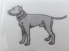 Bügelbild Strass Staffy Staffordshire Terrier