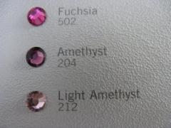 Swarovski Elements SS10 Amethyst