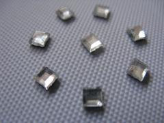 40   Strass-Formen Quadrat 3mm